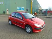 PEUGEOT 206 1.4 URBAN * £15 Per Week..£O Deposit * 2006 Petrol Manual in Red