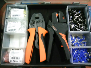 Weidmuller Crimp Set PZ6 Roto Crimper & Stripax Wire Stripper