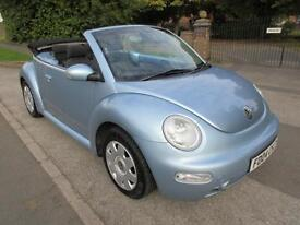 VOLKSWAGEN BEETLE CABRIOLET STUNNING EXAMPLE READY TO DRIVE AWAY
