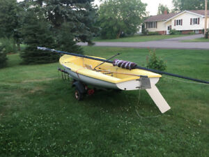 Sailboat for sale.  CL Code 40 with trailer