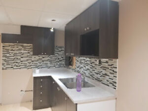 A very big 1 bedroom basement with separate kitchen and washroom