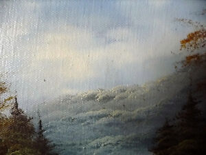 """Original Oil Painting by Phillip Cantrell """"Slow River Afternoon"""" Stratford Kitchener Area image 9"""