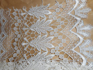 Stunning Silk Lace trim from Europe
