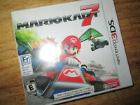 ***NINTENDO 3DS MARIOKART 7 FRENCH+ENGLISH COMPLETE!!!***