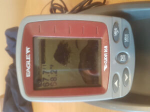 Eagle Cuda 168 Portable LCD fish finder for summer or winter