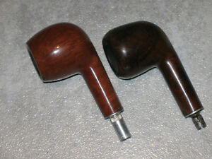 ....TWO BRIAR PIPES..[STEMLESS]...For the Pipe Smoker!...
