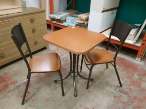BISTRO STYLE TABLE & CHAIRS