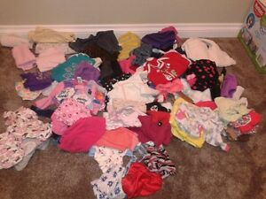 Box of Girls Clothes (87 items)