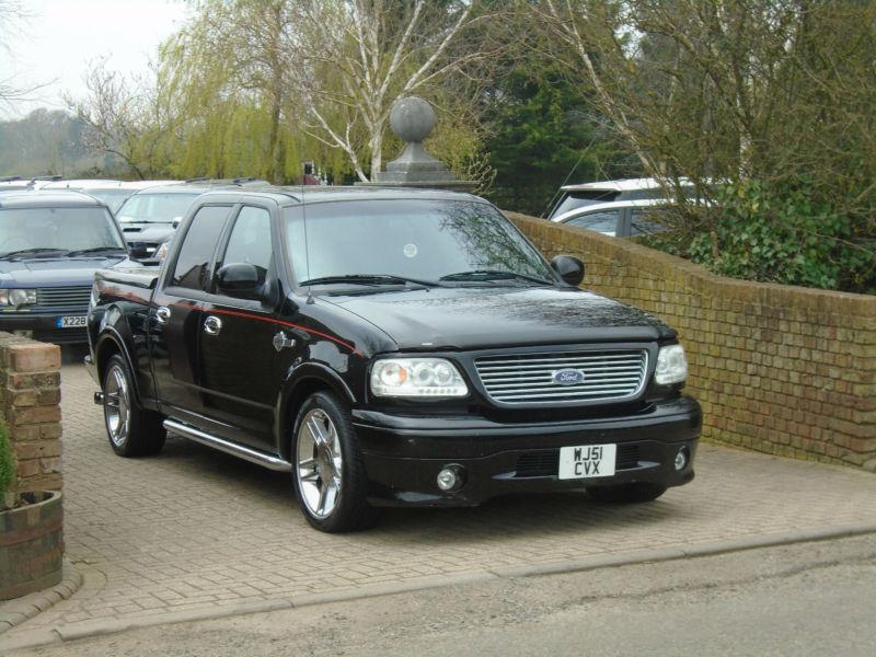 2002 ford f150 harley davidson 5 4 v8 supercharged double cab in milton keynes. Black Bedroom Furniture Sets. Home Design Ideas