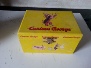 Vintage Curious George Jewelry Box