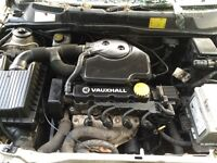 Vauxhall Astra mk4 1.6 complete engine