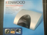 Kenwood 2 slice 700w sandwich maker
