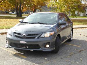 Toyota corolla S 2011 à vendre
