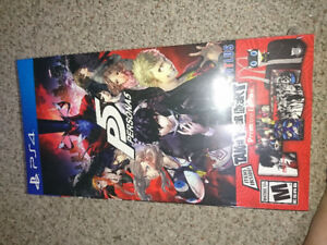 Persona 5 Take Your Heart Premium Edition NEW SEALED