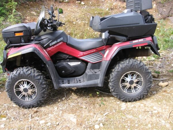Used 2010 Can-Am outlander max xtp limited 800r