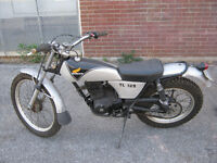 1976 HONDA TL125 TRIALS BIKE (WITH 200 CC HONDA REFLEX ENGINE)