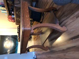 Antique Oak Table/desk