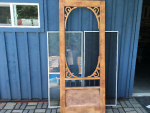 Colonial Screen/Glass Door