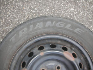 Tires triangle 175/65/R14 with rims
