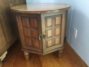 Solid wood table/cabinet