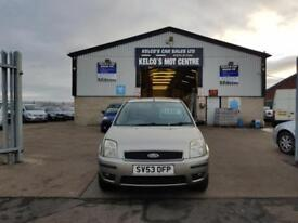 Ford Fusion 1.6 2003.25MY 3 GREAT LITTLE CAR FULL M.O.T