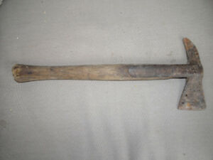 """Strapped Fireman Axe - Vintage, Approx. 15"""" x 6 1/2"""""""