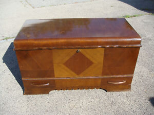 Aromatic Cedar Chest With Drawer - Red Seal - Honderich Mfg.