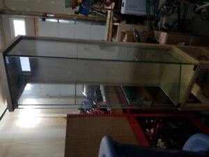 display cabinet. ikea. glass with lights. great shape.