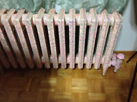 25 ASSORTED LOWBOY HOT CAST IRON WATER HEATERS