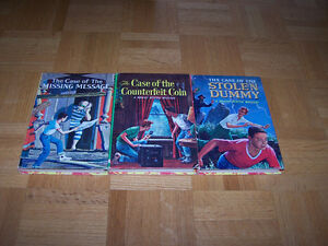 3 Vintage BRAINS BENSON MYSTERIES hardcover books