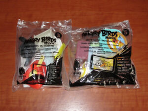 The Angry Birds Movie toys Brand new in package