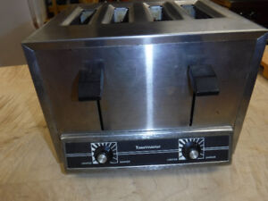COMMERCIAL TOASTMASTER 4 SLICE TOASTER