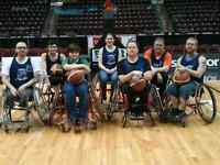 Want to play wheelchair basketball?