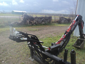 Skid Steer or 3 Point hitch Backhoe Attachment