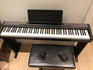 Loved Casio CDP 88 key Electric Piano.