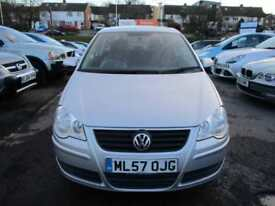 2007 Volkswagen Polo Hatch 3Dr 1.4 16V 80 SE Petrol silver Manual