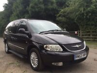 Chrysler Grand Voyager ltd xs 3.3 petrol 7 seat fully loaded