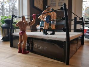WWE Backlash Ring & Action Figures