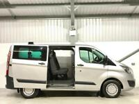 FORD TRANSIT CUSTOM TREND CREW CAB 6 SEATER COMBI 2.2TDCi 125PS T310 SILVER
