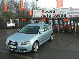 2005 AUDI A3 SPORT DSG 2.0TDI DIESEL AUTOMATIC ONLY 65,706 MILES