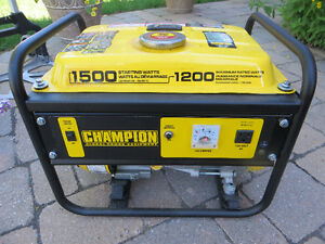 1200W/1500W CHAMPION PORTABLE GENERATOR