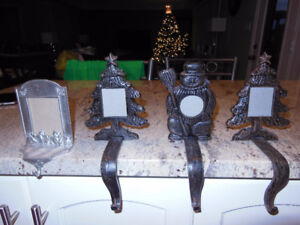 Picture Frame Christmas Stocking Holders