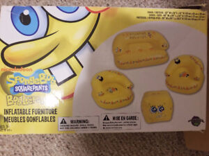 Spongebob Inflatable Sofa Set