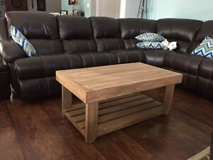 Pallet Coffee Table - Walnut Stain