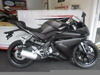 Yamaha r125 new shape breaking
