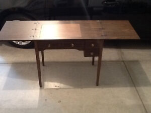 Craft table/converted sewing desk