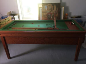 table de billard russe  (échange?) Aubaine!!!