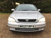 2000 Vauxhall Astra 1.6i (a/c) auto LS - 11 Service Stamps - 2 Keys