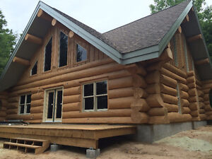 handcrafted log homes  monster logs Kitchener / Waterloo Kitchener Area image 2