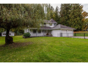 Abbotsford home with acreage for sale BC